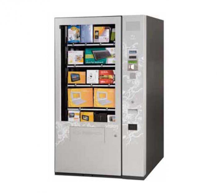 vending machine retail